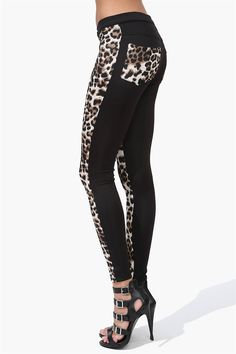 Cheater Pants in Leopard