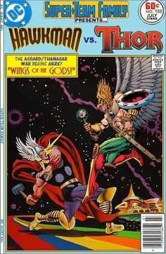 Super-Team Family: The Lost Issues!: Hawkman Vs. Thor