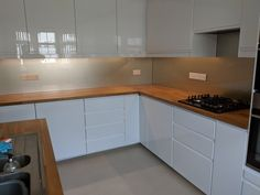 Glass Kitchen, Interiordesign, Home Kitchens, New Homes, Kitchen Cabinets, Projects, House, Home Decor, Log Projects