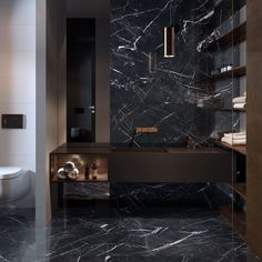 SUPREME EVO: large format porcelain stoneware collection marble effect Black Marble Bathroom, Marble Wall, Marble Floor, Modern Bathroom, Small Bathrooms, Bathroom Ideas, Black Floor Mirror, Marble Effect, Wall And Floor Tiles
