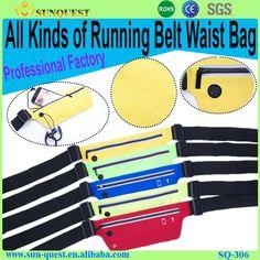 Flip Belt Running, Lycra Fitness Flip Running Belt, Spandex Sport Running Waist Bag