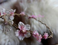 Haarschmuck & Kopfputz - Blumenkranz** - ein Designerstück von BarbaraDesign-02 bei DaWanda