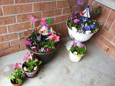 Rockabye Butterfly: Fairy Gardens!