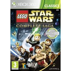 Lego Star Wars The Complete Saga Game (Classics) LEGO Star Wars The Complete Saga brings the whole family together to play for the first time ever through all six Star Wars movies in one videogame Developer Travellers Tales adds new levels new chara http://www.MightGet.com/january-2017-13/lego-star-wars-the-complete-saga-game-classics-.asp