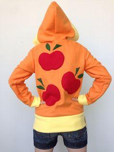 Applejack Fleece Cosplay Hoodie My Little by WeeabooWarehouse, $80.00