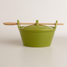 Chive Potluck Baker with Serving Spoon