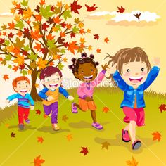 Google Image Result for http://i.istockimg.com/file_thumbview_approve/14175202/2/stock-illustration-14175202-kids-running-in-autumn.jpg