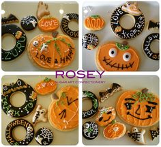 "[29thOCT2009] I had a second  ""Halloween Theme"" Icing Cookie Lesson with 4 talented students :)"