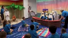 Gangway to Galilee, Concordia's 2014 VBS Decorating Overview - video dailymotion Bible School Crafts, Bible Crafts, Bible Lessons For Kids, Bible For Kids, Peter Walks On Water, Sailing Theme, Vbs Themes, Train Up A Child, Vacation Bible School