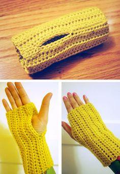 Crochet Mittens - Tutorial ❥ 4U hilariafina  http://www.pinterest.com/hilariafina/