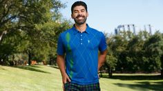 With this new polo, we've taken suave, Jack Nicklaus-era throwbacks to another level.This shirt pays its respects to the greats, tips its cap to the icons, then modernizes the most classic of all golf patterns. This argyle is fresh, polished, and best of all, just a touch off the beaten cart path.How Does It FitRelaxed fit. Buttery soft 4-way stretch matte. Moisture wicking to keep you chill and dry all day long. Wrinkle resistant fabric will have your polo ready to wear from the second you…