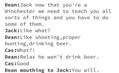 #Supernatural #Season13 #JackWinchester #SPN #SupernaturalMemes