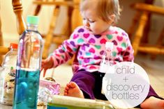 We Tried It! - Discovery Bottles - Modern Parents Messy Kids