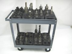 SET-OF-8-TRAYS-FOR-40-CAT40-CT40-BT40-NMBT40-CNC-TOOLHODERS-STORAGE-RACKS