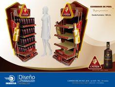 EXHIBIDORES DE PISO. on Behance