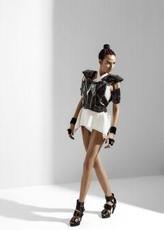 Fernanda Tavares by Hugo Toni for Vogue Brazil June 2015