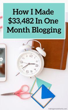 How I Make Money Blogging #blogging #startablog Make Money Blogging, Money Saving Tips, Make Money Online, How To Make Money, Online Income, Make Sense, Finance Tips, Extra Money, How To Start A Blog