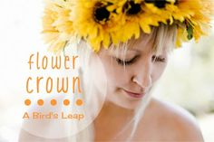 DIY Gorgeous Flower Crown Tutorial.