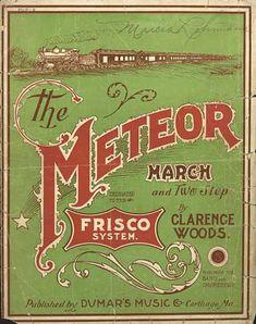 Sheet Music - The meteor