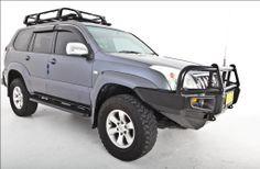 Powerful 4x4 Pty Ltd Store - Rock Armor Side Steps Toyota Prado 120 Series, $630.00 (http://store.powerful4x4.com.au/rock-armor-side-steps-toyota-prado-120-series/)