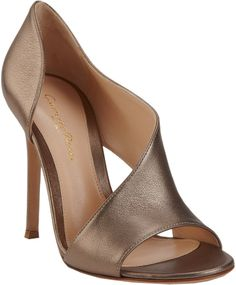 Gianvito Rossi Asymmetric Sandal on shopstyle.com
