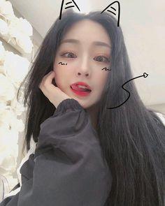 uma beleza dessas bixo ❀ ulzzang boys and girls korean ❀ by: Ulzzang Korean Girl, Cute Korean Girl, Korean Beauty, Asian Beauty, Japonese Girl, Mode Instagram, Girl Korea, Uzzlang Girl, Ulzzang Fashion