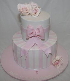 Girls Christening Cake by Koulas Cake Creations, via Flickr