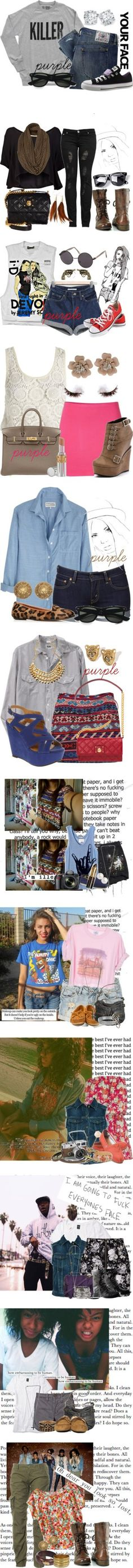 """All Of Nothing FF"" by dijahhmonroe ❤ liked on Polyvore"