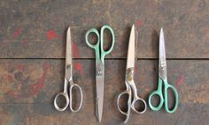 vintage scissors shears by scrapology on Etsy,