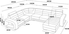 Sectional Living Room Sets, Living Room Sofa Design, Bedroom Bed Design, Wooden Sofa Set, Wood Sofa, Tv Unit Furniture, Sofa Furniture, Black And Grey Corner Sofa, Home Cinema Room
