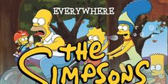 This Infographic Shows You Everywhere The Simpsons Have Traveled In The Past 25 Years