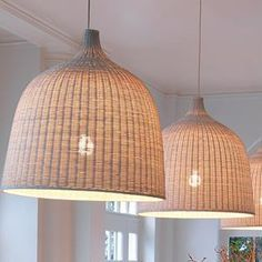 Ikea LERAN Pendant lamp, rattan