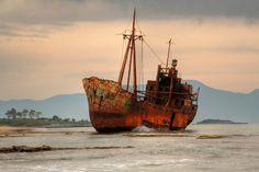 TRAVEL'IN GREECE I #Gytheion shipwreck, #Peloponnese, #Greece