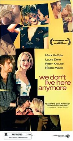 We Don't Live Here Anymore [VHS] $1.00