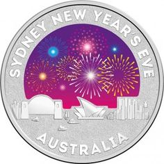 2015  -Sydney New Years Eve Silver Coin.