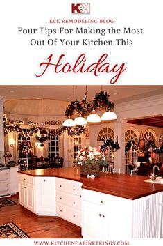 Now is the time that you can take simple, yet important steps to creating a kitchen that you will enjoy this holiday season.