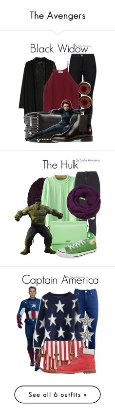 """The Avengers"" by sofiaamorena ❤ liked on Polyvore"