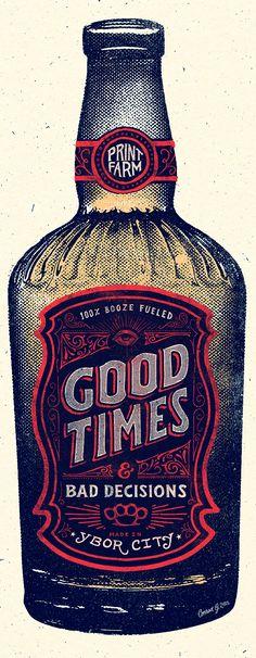 (Bottle Design Sketch)