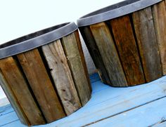 Pallet Wood Planter Project