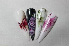 #aquarelle #nail #design http://www.crystalnails.com/webshop/aquarell-paints