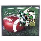 Football Memories Wood Wall Decor with Clip