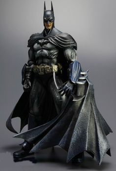 Batman action figure from Arkham Asylum. want this!