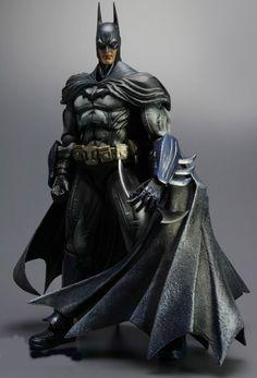 Batman action figure from Arkham Asylum. want this!