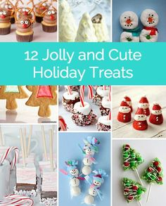 Cute holiday treats  - fun to make with the kids!