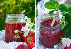 Norwegian Food, Food Inspiration, Mason Jars, Favorite Recipes, Vegetables, Ethnic Recipes, Drinks, Summer, Drinking