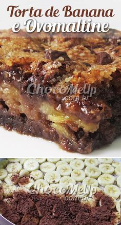 Nutrition And Nutrients Sweet Recipes, Cake Recipes, Snack Recipes, Cooking Joy, Banoffee, Perfect Food, Yummy Snacks, Just Desserts, Food And Drink