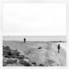 Strand wandeling op Vlieland
