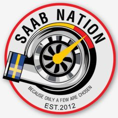 SAAB Nation STICKER (NEW) – SAAB Nation Saab 9 3 Convertible, Saab 9 3 Aero, Saab Automobile, Sax Man, Saab 900, Volvo, Cool Cars, Dream Cars, Benz