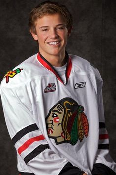 Chase de Leo of the WHL Portland Winterhawks.. I don't like the team but dang!
