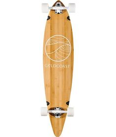 """Gold Coast The Classic Bamboo Floater 44"""" Longboard Complete at Zumiez"""